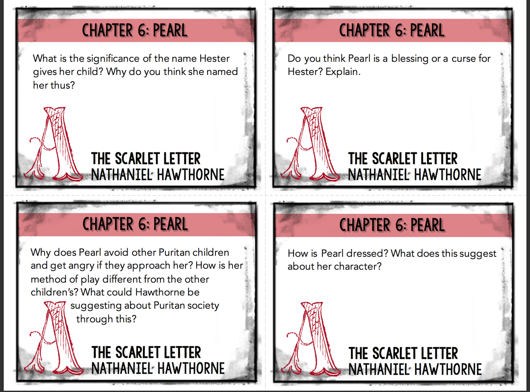 the scarlet letter significance of the